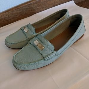 Coach Seaglass loafers.